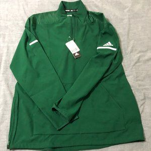 adidas L/S. Woven 1/4 Zip NWT